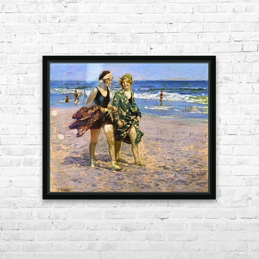 Blonde and Brunette HD Sublimation Metal print with Decorating Float Frame (BOX)