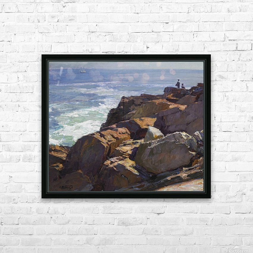 Beach Scenes, Brighton HD Sublimation Metal print with Decorating Float Frame (BOX)
