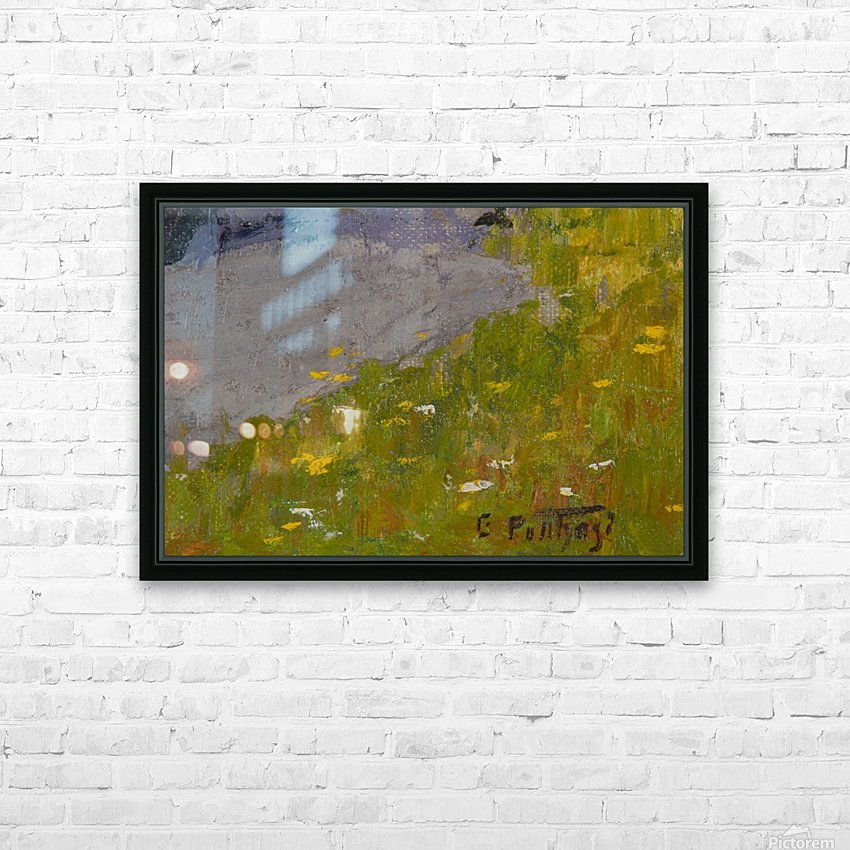 Rocky fields HD Sublimation Metal print with Decorating Float Frame (BOX)