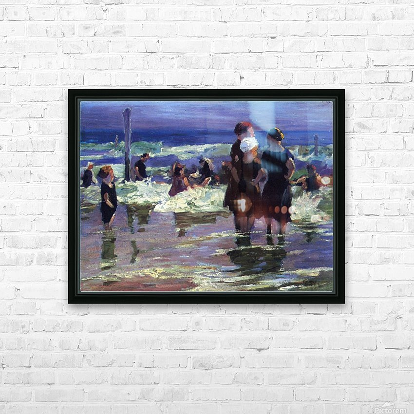The Gossips HD Sublimation Metal print with Decorating Float Frame (BOX)