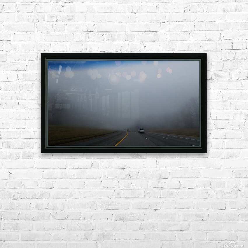 Misty Fog HD Sublimation Metal print with Decorating Float Frame (BOX)