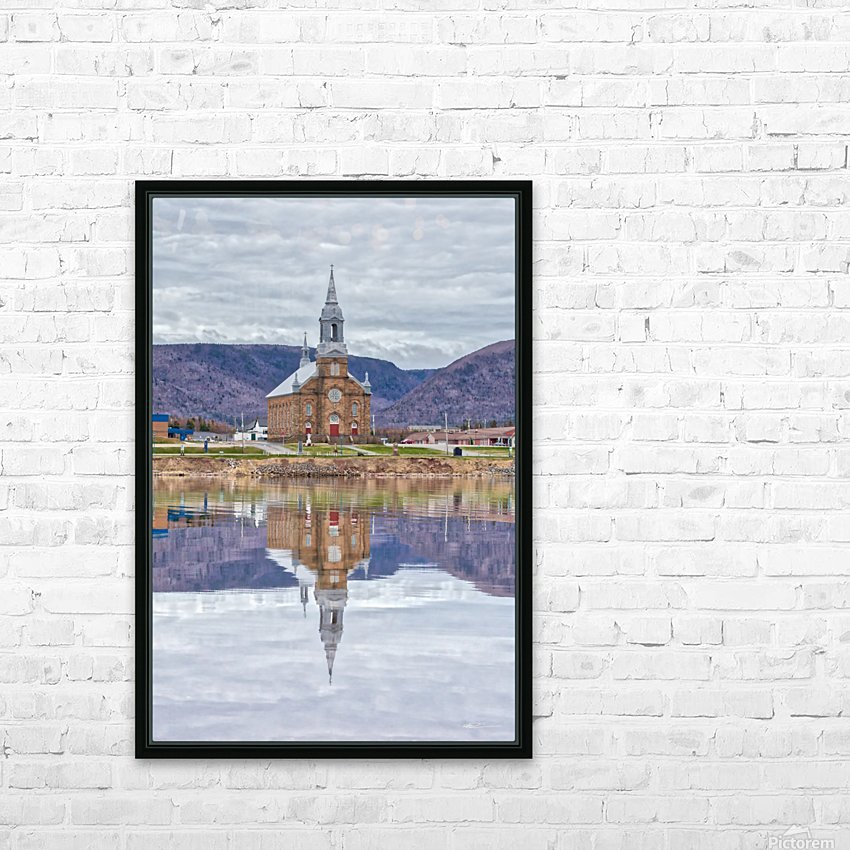 St. Pierres Church - Cheticamp Ns HD Sublimation Metal print with Decorating Float Frame (BOX)