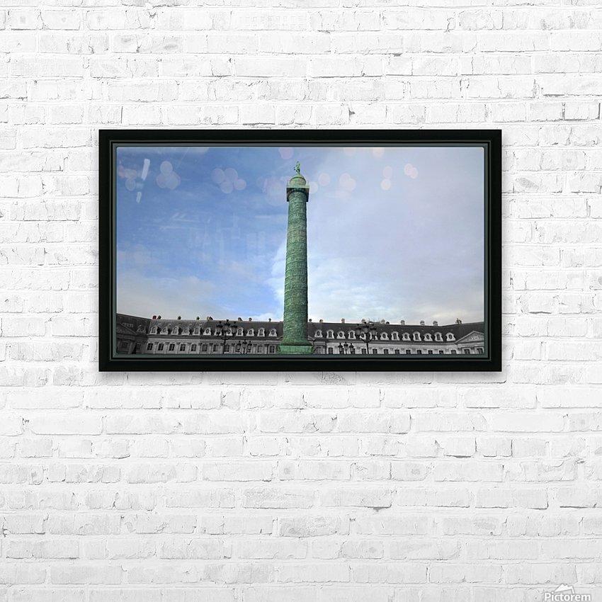 Paris Vendome HD Sublimation Metal print with Decorating Float Frame (BOX)
