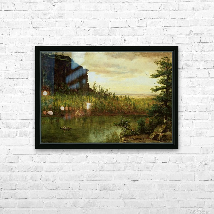 Landscape near Fort Collins HD Sublimation Metal print with Decorating Float Frame (BOX)