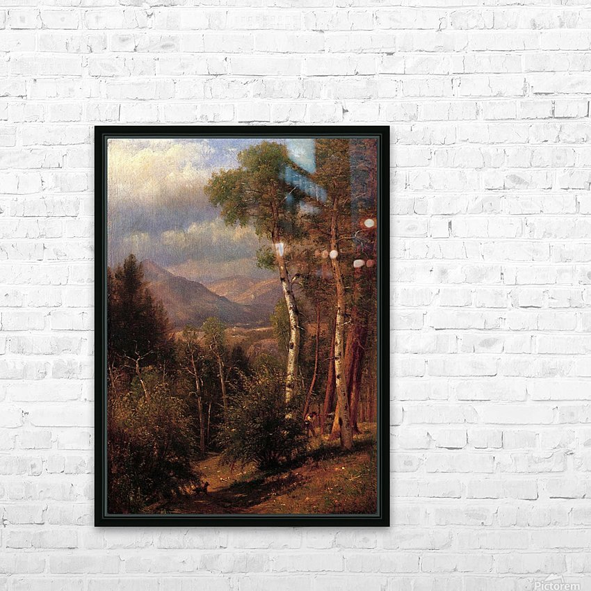 Hunter in the Woods of Ashokan HD Sublimation Metal print with Decorating Float Frame (BOX)
