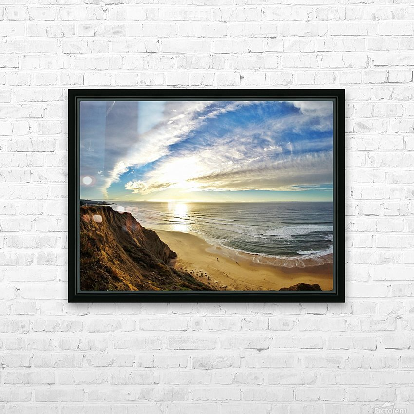 Highway 1  HD Sublimation Metal print with Decorating Float Frame (BOX)