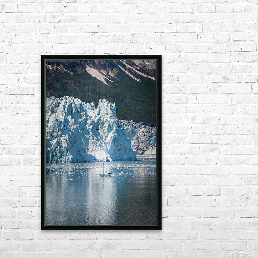 Alaska HD Sublimation Metal print with Decorating Float Frame (BOX)