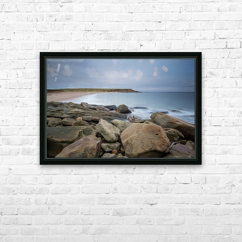 Sands of Whale Cove HD Sublimation Metal print with Decorating Float Frame (BOX)