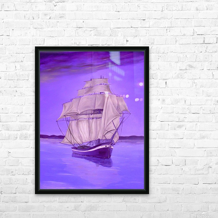 Fantasy Shade HD Sublimation Metal print with Decorating Float Frame (BOX)