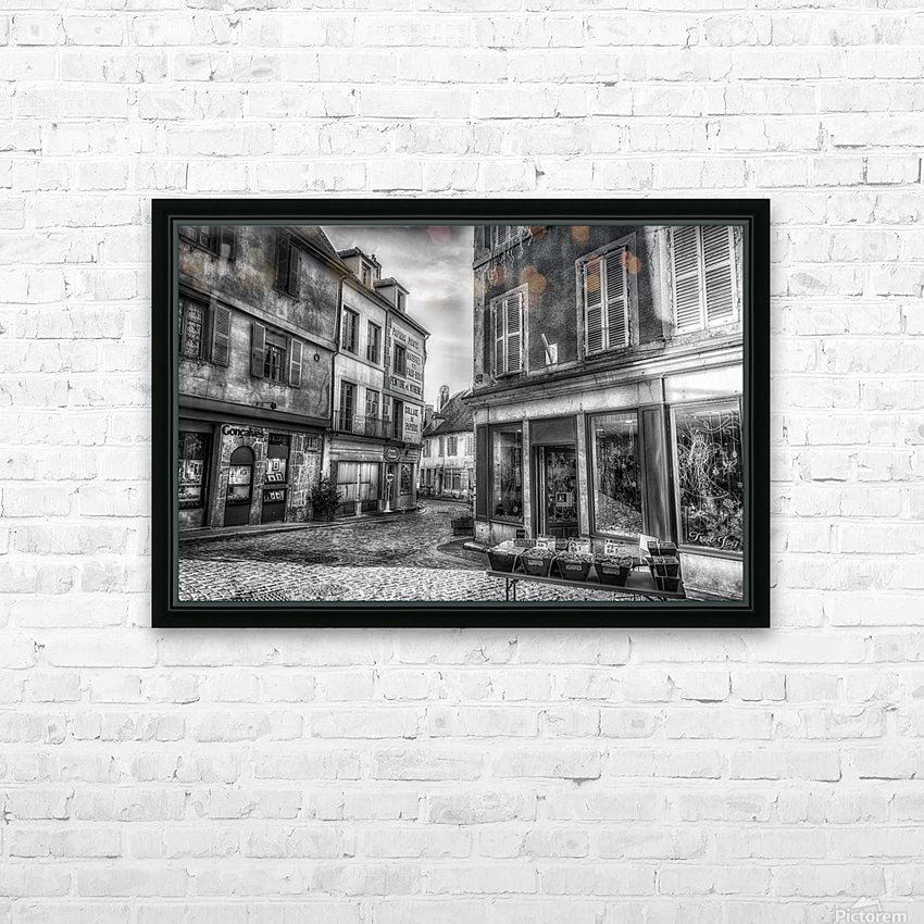 Old world HD Sublimation Metal print with Decorating Float Frame (BOX)