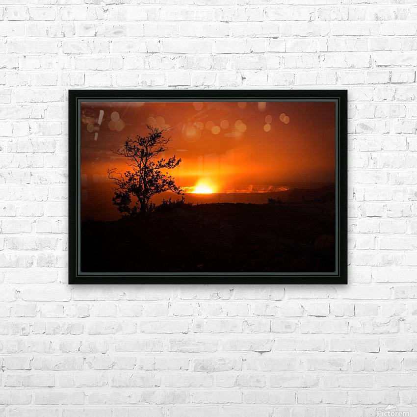 Gate of Hell HD Sublimation Metal print with Decorating Float Frame (BOX)