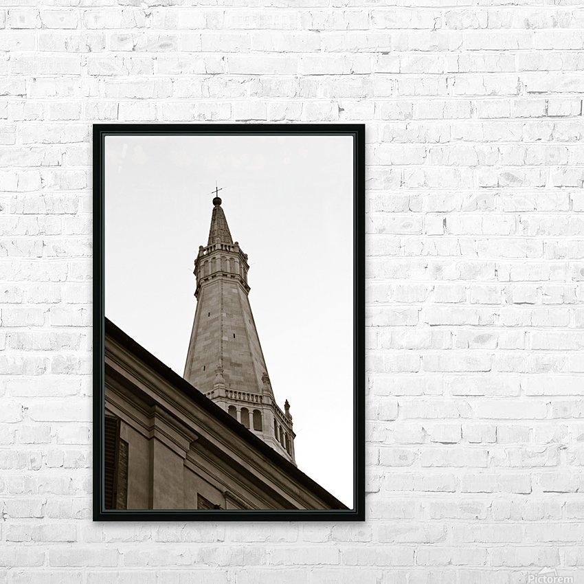 Modena 3 HD Sublimation Metal print with Decorating Float Frame (BOX)