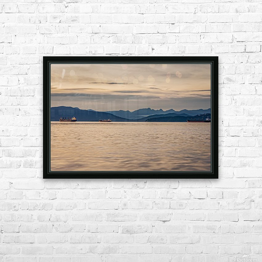 Pacific North West HD Sublimation Metal print with Decorating Float Frame (BOX)