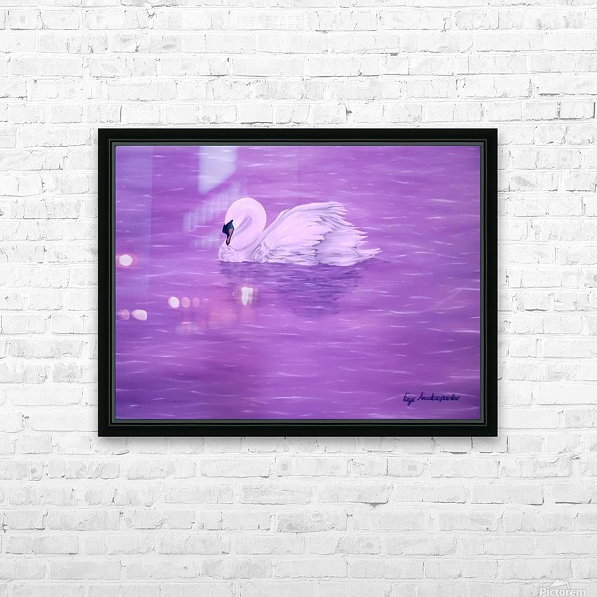 Grace HD Sublimation Metal print with Decorating Float Frame (BOX)