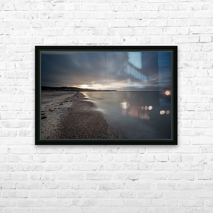 Belle Cote Beach at Sunset HD Sublimation Metal print with Decorating Float Frame (BOX)