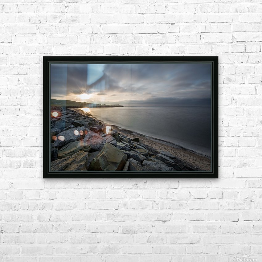 Sun Break HD Sublimation Metal print with Decorating Float Frame (BOX)
