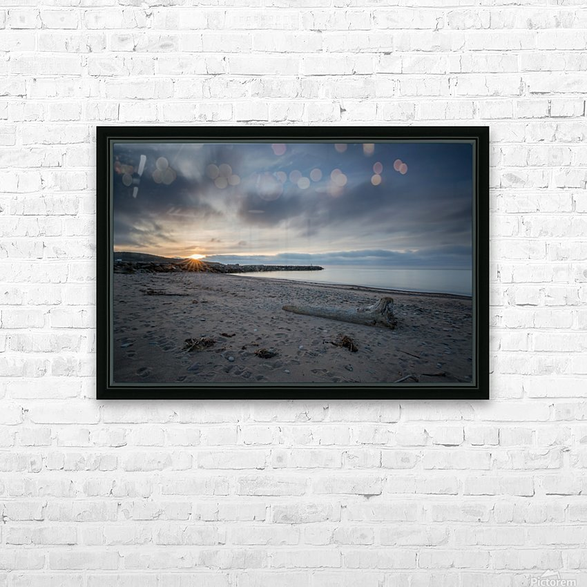 Goodnight Belle Cote HD Sublimation Metal print with Decorating Float Frame (BOX)