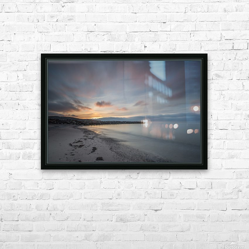 Belle Sunset HD Sublimation Metal print with Decorating Float Frame (BOX)