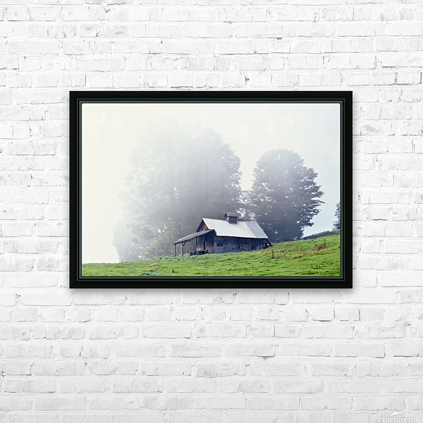 House Near Peacham, Vermont, Usa HD Sublimation Metal print with Decorating Float Frame (BOX)