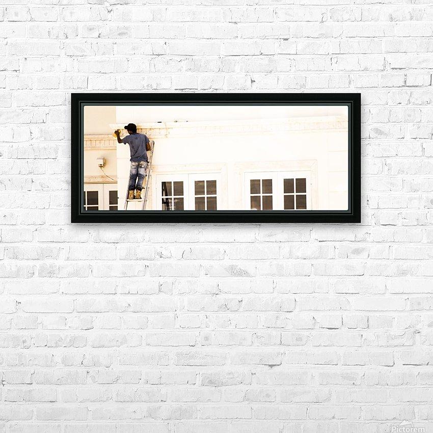Dirty Mansion HD sublimation métal imprimé avec décoration flotteur cadre (boîte)