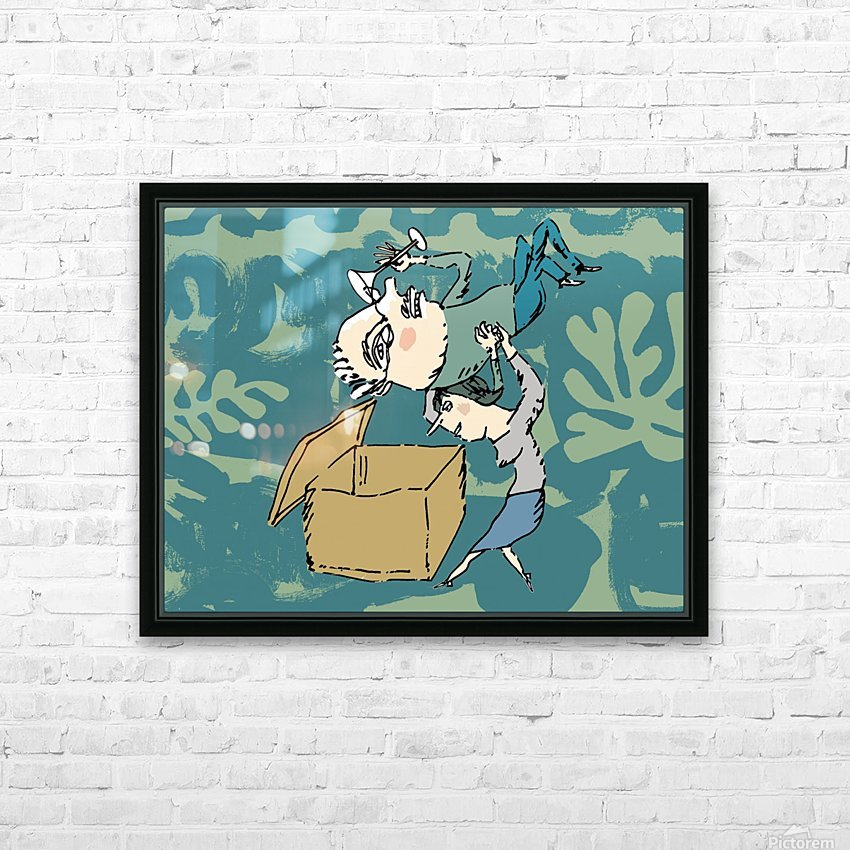 CLEAR OUT HD Sublimation Metal print with Decorating Float Frame (BOX)