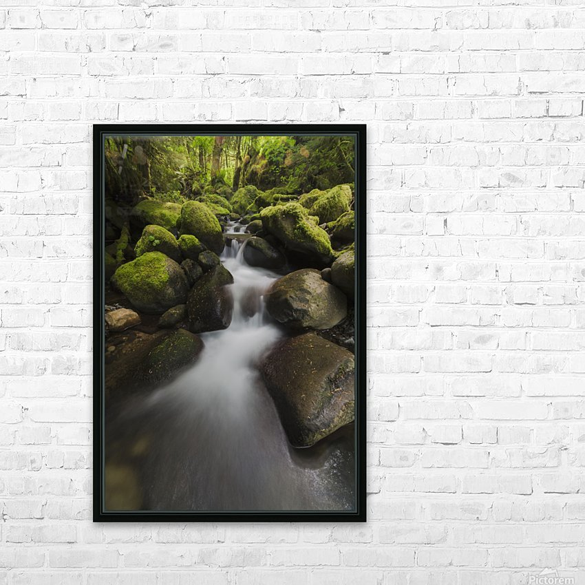 Ruckel Creek; Oregon, United States of America HD Sublimation Metal print with Decorating Float Frame (BOX)
