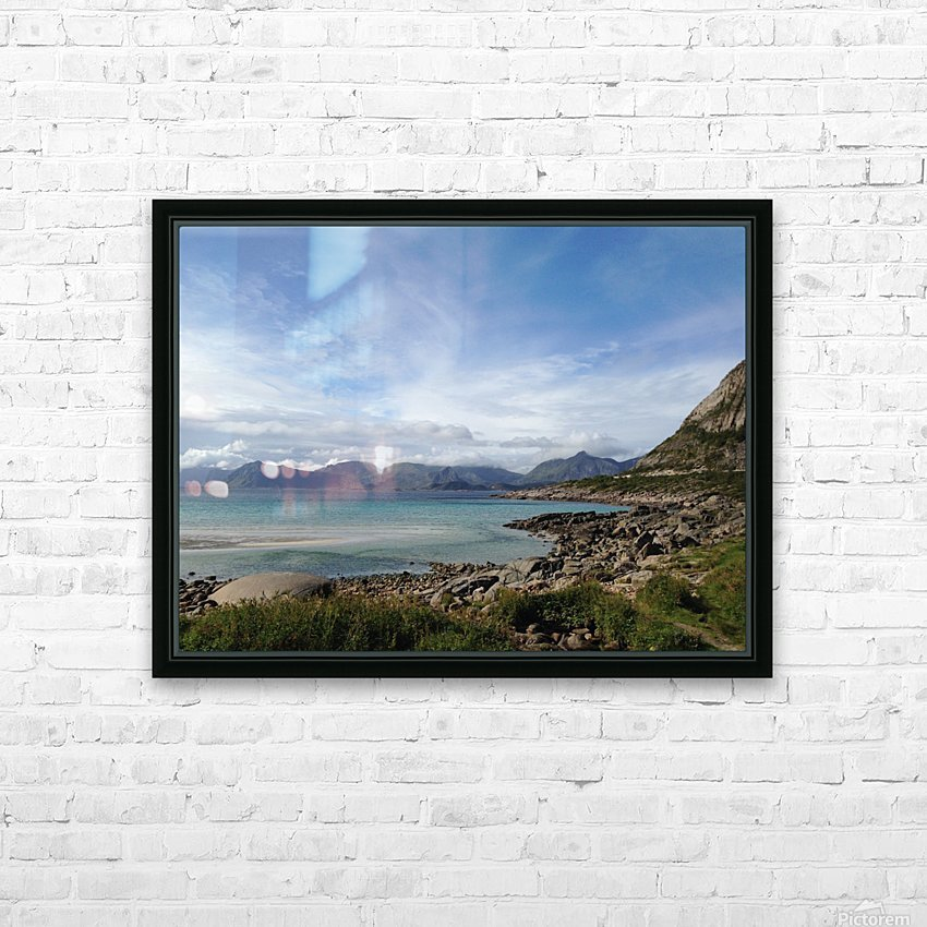 Cold Summer HD Sublimation Metal print with Decorating Float Frame (BOX)