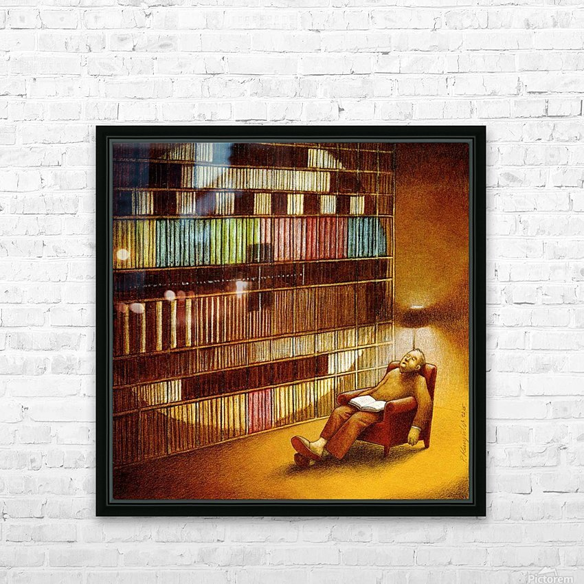 Break in transmission HD Sublimation Metal print with Decorating Float Frame (BOX)