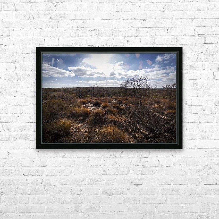Kalbarri Canyon HD sublimation métal imprimé avec décoration flotteur cadre (boîte)