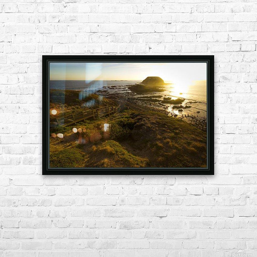 Phillip Island HD sublimation métal imprimé avec décoration flotteur cadre (boîte)