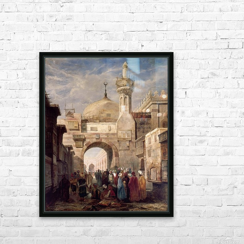 Mosque of Al Azhar in Cairo HD Sublimation Metal print with Decorating Float Frame (BOX)