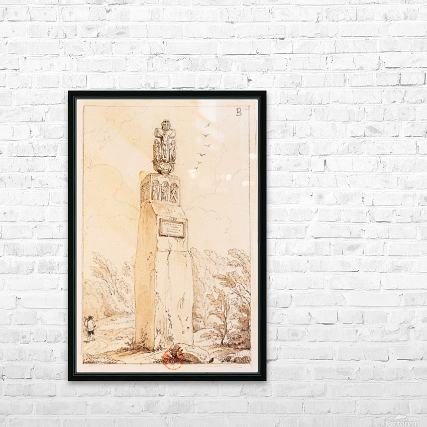 Christ de Breitenstein HD Sublimation Metal print with Decorating Float Frame (BOX)