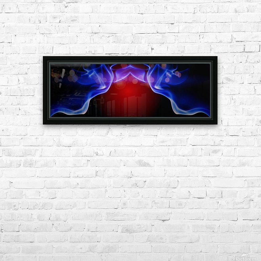 SPS-0006 HD Sublimation Metal print with Decorating Float Frame (BOX)