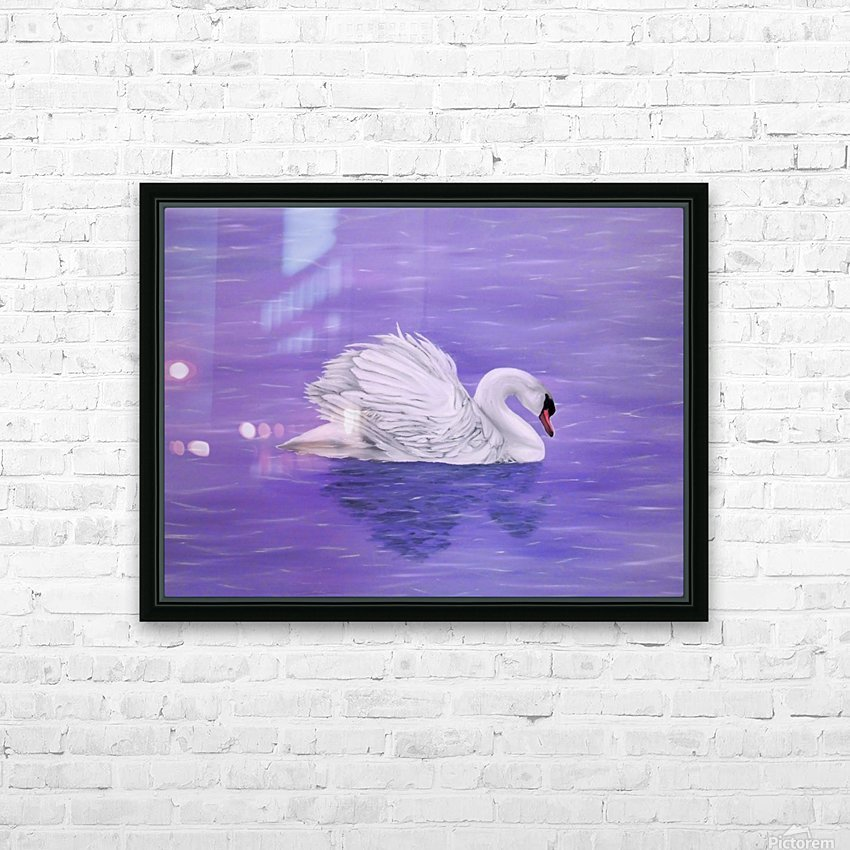 Serenity HD Sublimation Metal print with Decorating Float Frame (BOX)