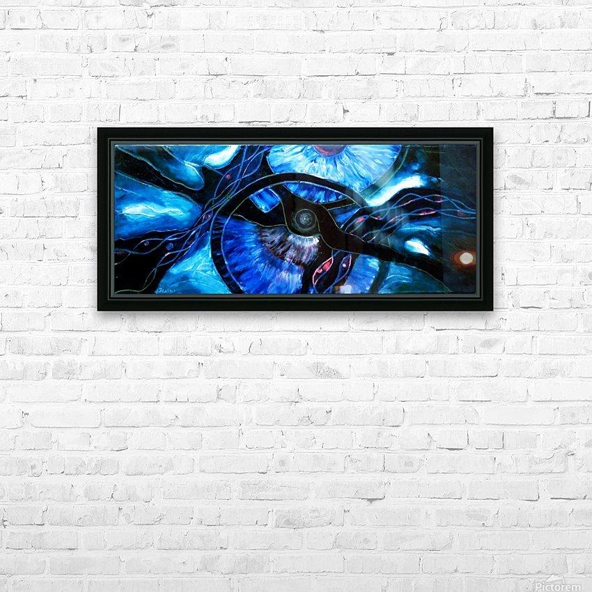 The ocean of my memory HD sublimation métal imprimé avec décoration flotteur cadre (boîte)