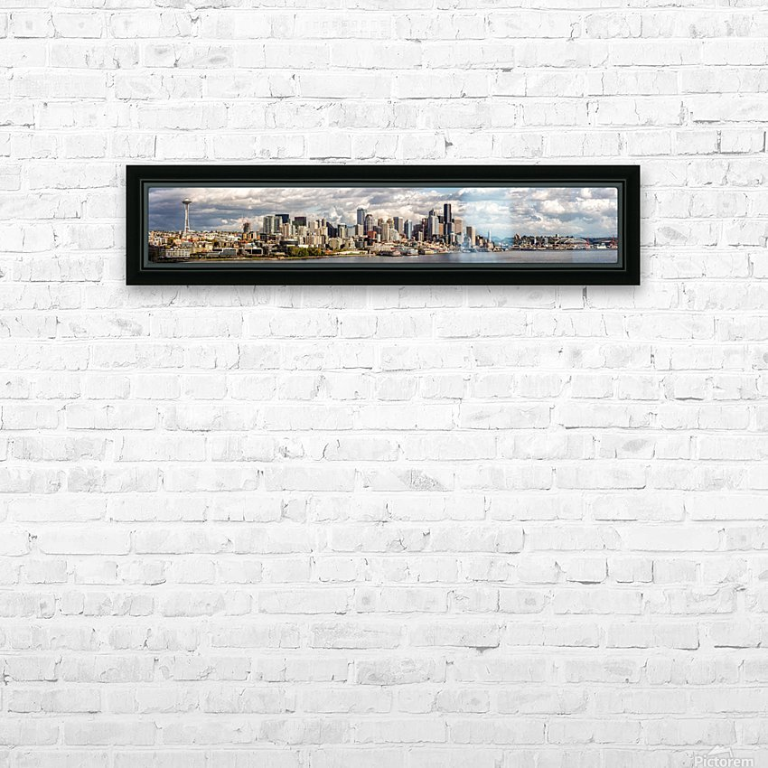 Seattle HD Sublimation Metal print with Decorating Float Frame (BOX)