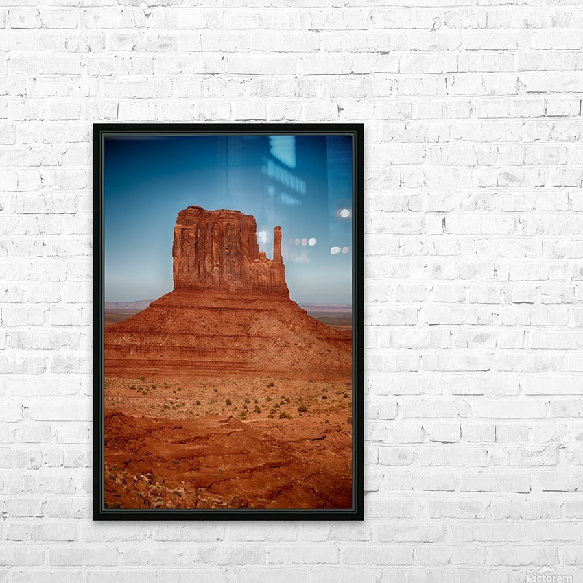 Monument Valley 4 HD Sublimation Metal print with Decorating Float Frame (BOX)