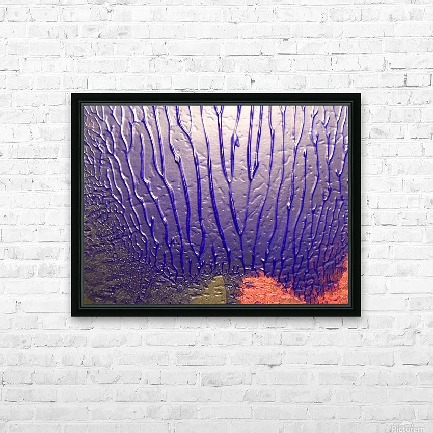 art HD Sublimation Metal print with Decorating Float Frame (BOX)