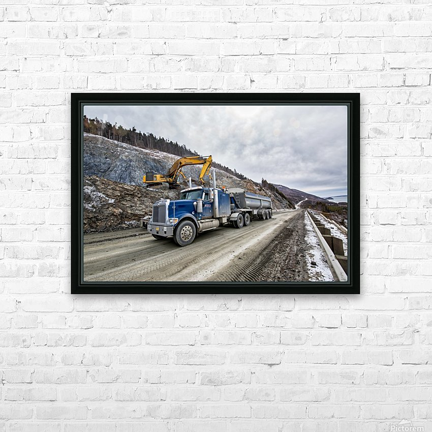 3544_H HD Sublimation Metal print with Decorating Float Frame (BOX)
