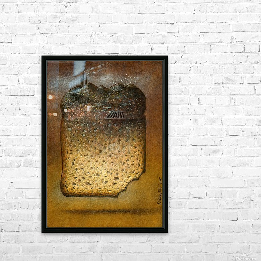 soil pollution HD Sublimation Metal print with Decorating Float Frame (BOX)