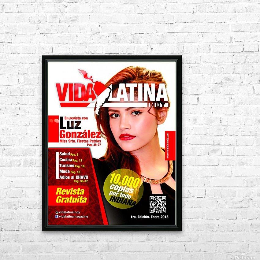 LUZ GONZALEZ HD Sublimation Metal print with Decorating Float Frame (BOX)