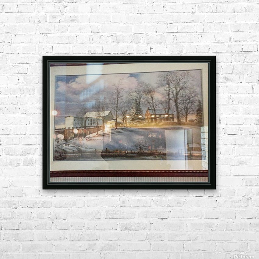 20140402_162400 HD Sublimation Metal print with Decorating Float Frame (BOX)