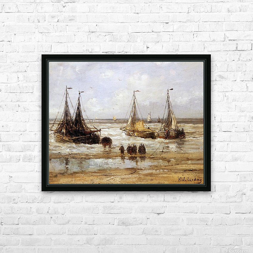 Arrival Of The Fleet Sun HD Sublimation Metal print with Decorating Float Frame (BOX)