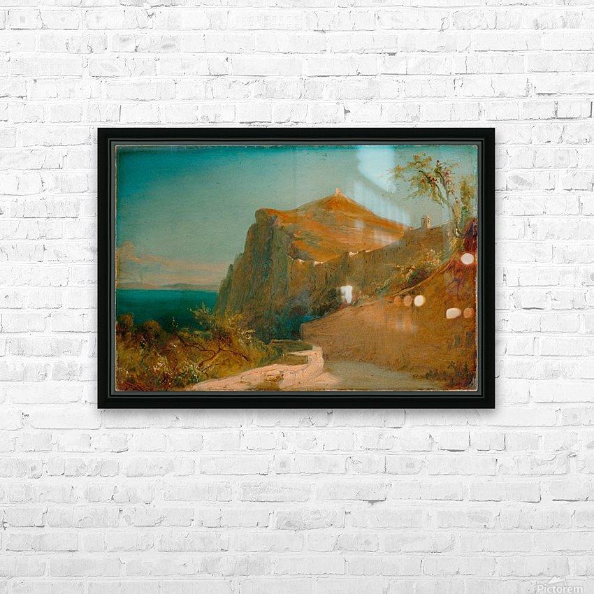 Tiberiusfelsen auf Capri HD Sublimation Metal print with Decorating Float Frame (BOX)