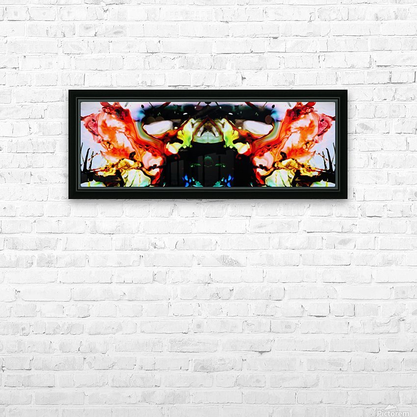 MPS-021 HD Sublimation Metal print with Decorating Float Frame (BOX)