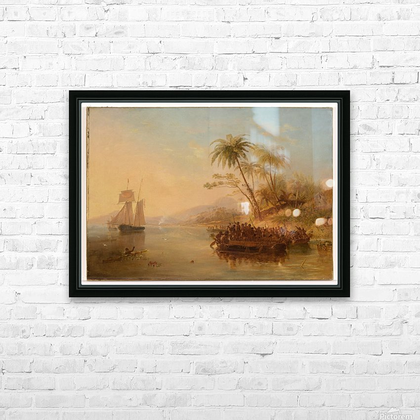 The Rescue Of William Doyly HD Sublimation Metal print with Decorating Float Frame (BOX)