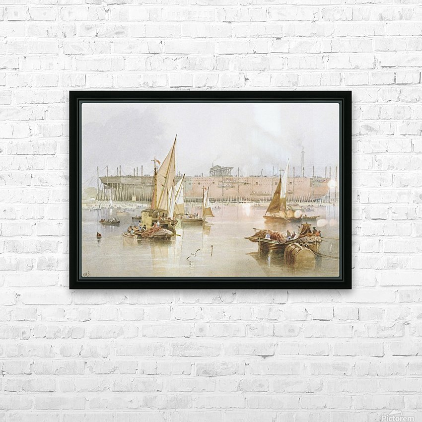 SS 'Great Eastern' HD Sublimation Metal print with Decorating Float Frame (BOX)