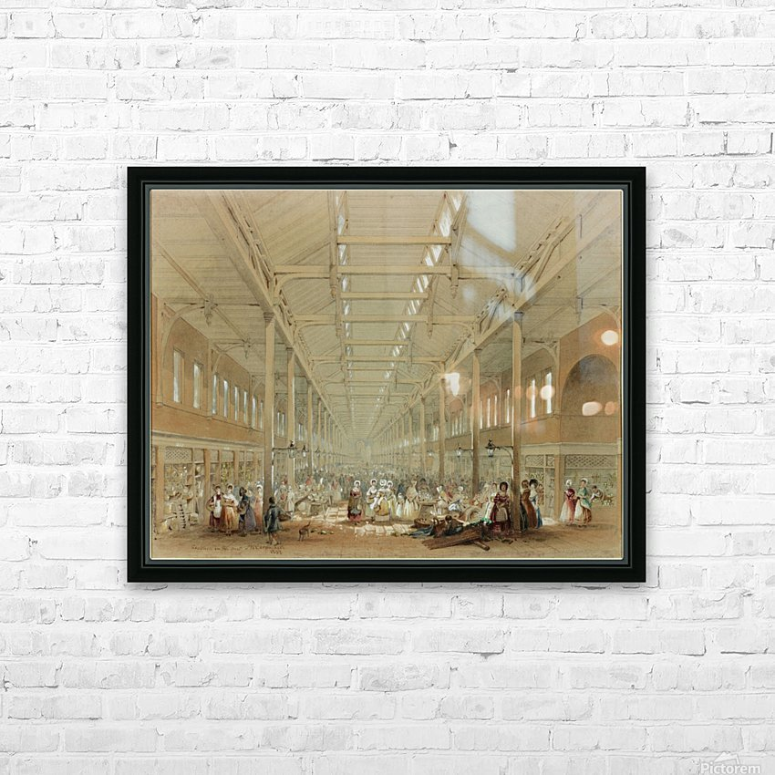 Newcastle great hall HD Sublimation Metal print with Decorating Float Frame (BOX)