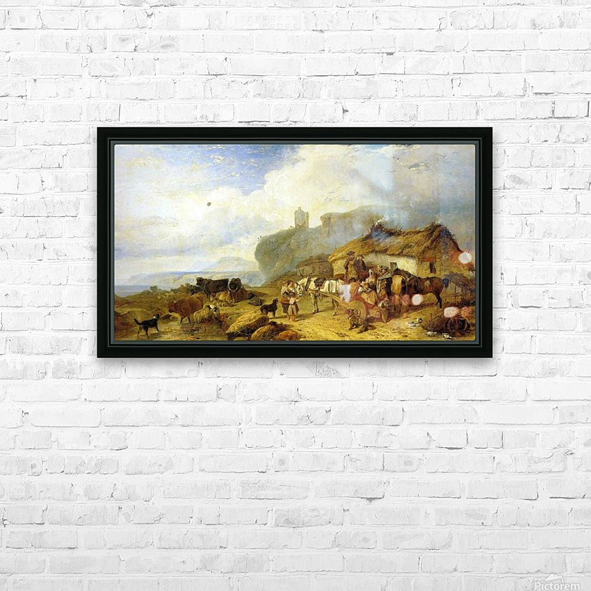 The Drover's Halt, island of Mull HD Sublimation Metal print with Decorating Float Frame (BOX)