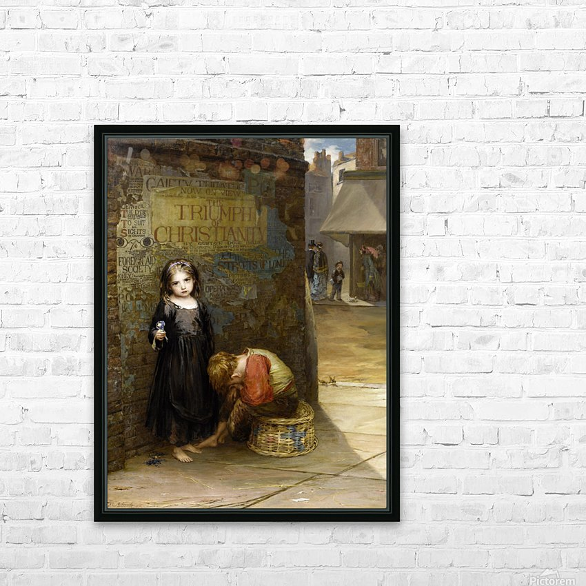 Uncared for 1871 HD Sublimation Metal print with Decorating Float Frame (BOX)